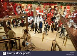 thanksgiving day shopping hordes of shoppers inside macy u0027s in new york looking for bargains