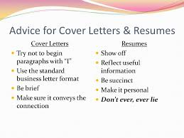 Succinct Resume Creating A Resume U0026 Cover Letter Ppt Download