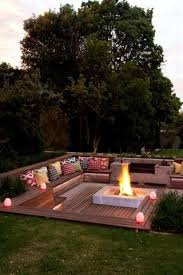 Backyard Decks Pictures The 25 Best Fire Pit Designs Ideas On Pinterest Fire Pits