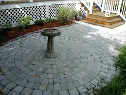 Patio Paver Calculator Home Depot Pavers Patio Or Image Of Paving Stones Home