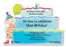 birthday invitation card designs for kids image collections