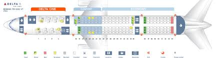 Boeing 777 300er Seat Map Seat Map Boeing 757 200 Delta Airlines Best Seats In Plane