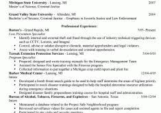 Criminal Justice Resume Samples by Customer Service Skills Resume Resume Example