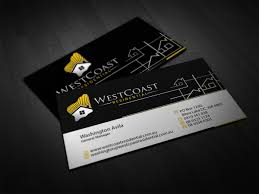 Professional Home Builder Business Card Designs For A Home - Home builder design
