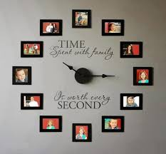 personalized picture clocks diy family wall clock diy clock clocks and february