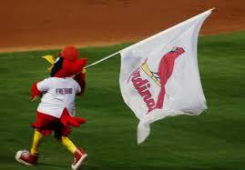 Cardinal Flag Welcome To The Bandwagon How We Got Here Aaron Miles U0027 Fastball