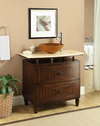 Bathroom Vanities With Vessel Sinks 36 Inch Contemporary Vessel Sink Bathroom Vanity