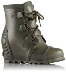 sorel womens boots size 12 s joan waterproof wedge boot sorel