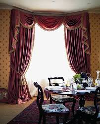 Curtain Draping Ideas Curtain Ideas Swags And Tails Decorate The House With Beautiful