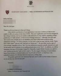 Awesome College Acceptance Letter 11 Things Real Did To Get Into College Gurl