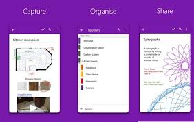 onenote app for android onenote for android updated with office lens integration winbuzzer