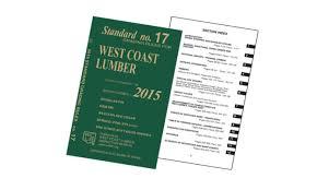 bureau standard standard grade no 17 coast lumber inspection bureau