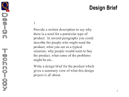 design brief a level graphic products portfolio guidelines