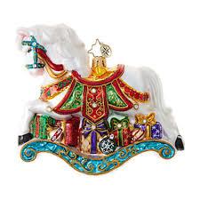 christopher radko ornaments radko limited edition pony