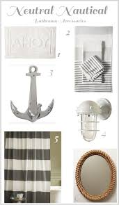 Seaside Bathroom Ideas Breathtaking Luxury Nautical Simple Nautical Bathroom Accessories