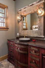 mirror frame decorating ideas bathroom traditional with wood