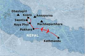 Where Is Nepal Located On The World Map by Annapurna Dhaulagiri Nepal Tours Peregrine Adventures Us