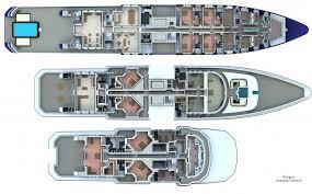 90m senol mega yacht concept deck plan yacht design