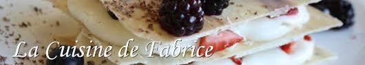 cuisine de fabrice de la cuisine de fabrice