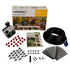 home depot sprinkler design tool raindrip automatic container and hanging baskets kit r560dp the