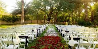 outdoor wedding venues az the secret garden event center weddings