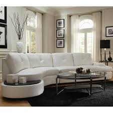 Curved Sectional Sofa Leather Circa Contemporary Sectional White Leather Sofas Leather Sofas
