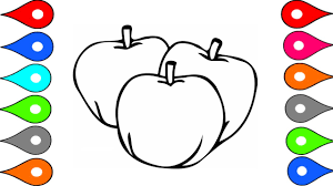 coloring pages fruits coloring pages fruits how to draw colorful