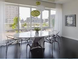 Kartell Bloom Ceiling Light Kartell Bloom Pendant Lighting Keeps This Dining Room Evergreen