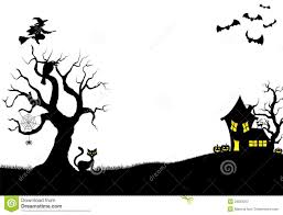 halloween background white halloween silhouette background stock photos image 33829253