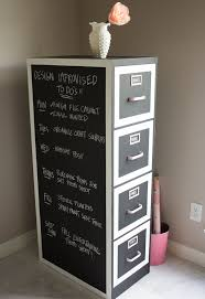 Arts And Crafts Storage Cabinet by Chalkboard Paint File Cabinet Makeover Hometalk