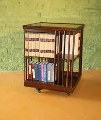 Revolving Bookcases Good Large Walnut Victorian Revolving Bookcase Antiques Atlas