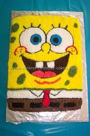spongebob cake ideas coolest spongebob squarepants cake photos and how to tips