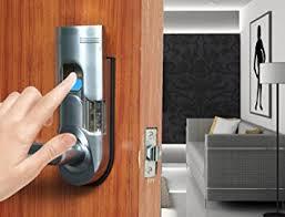 Keypad Interior Door Lock Digi Electronic Biometric Fingerprint Keypad Password