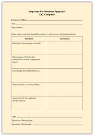 free employee performance review templates smartsheet evaluation