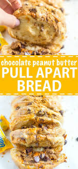 chocolate peanut butter pull apart bread what molly made