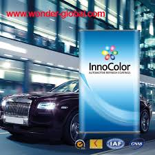 china innocolor body filler for auto paint china car paint