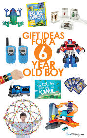 gift ideas for a 6 year boy house mix