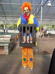 killer clown costume killer clown captures boy illusion costume illusions costumes