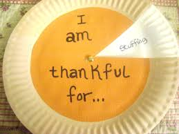 thanksgiving thankful crafts thankful pie