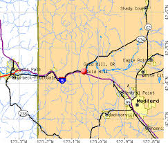 gold hill oregon or 97525 profile population maps real