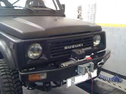 jeep suzuki suzuki samurai jeep wrangler winch warn anti roll bars barras