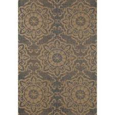 8 X 10 Outdoor Rug 8 X 10 Medallion Outdoor Rugs Rugs The Home Depot