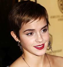emma watson pixie cut pixie cut is descended from a long line of