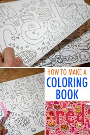 how to draw coloring pages make your own coloring book free tutorial