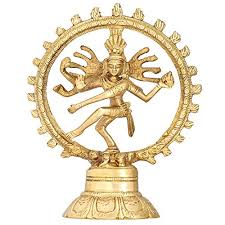 dancing idol shiva nataraja hindu statue for home decor mandir