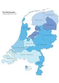 Map Of The Netherlands Netherlands Unemployment U2022 Mapsof Net