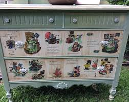themed dresser goose nursery themed dresser do not ship