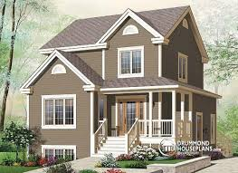 Family Home Plans Multi Family Plan W2795b Detail From Drummondhouseplans Com