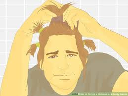 how to spike someones hair how to put up a mohawk or liberty spikes with pictures wikihow