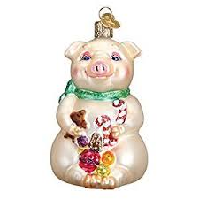 world lester the pig glass blown